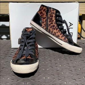 "Aldo ""DESADIER"" size 38B leopard print women's"